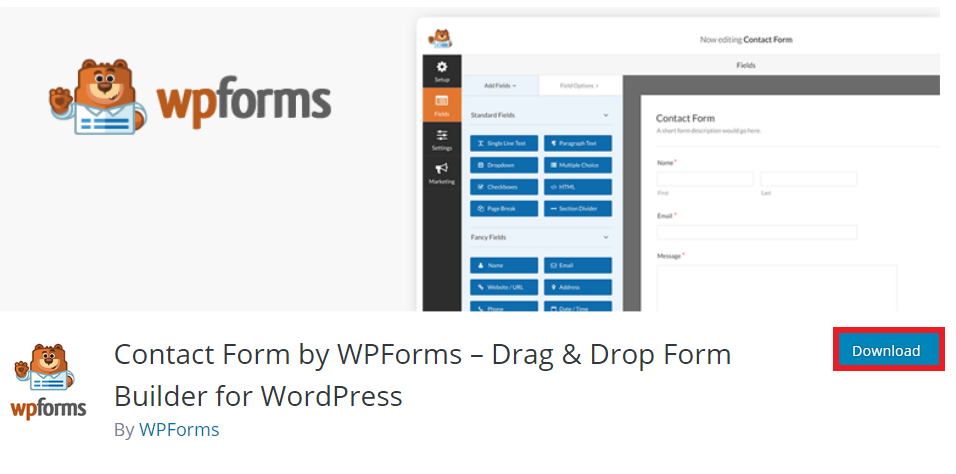 descargar plugin wpform